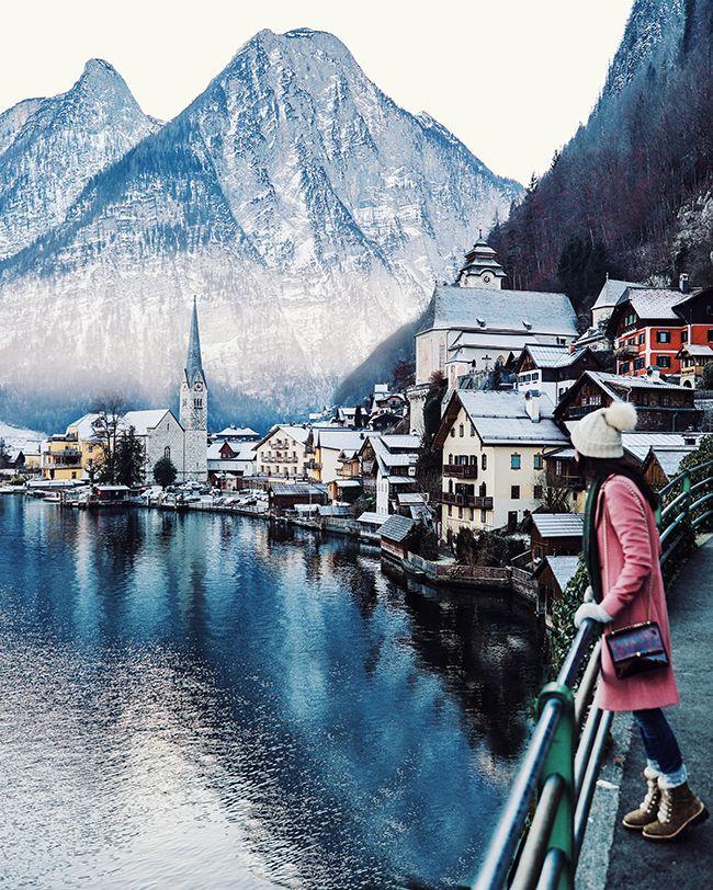 10 day road trip thru Switzerland, Germany, and Austria (this is hallstatt, austria)