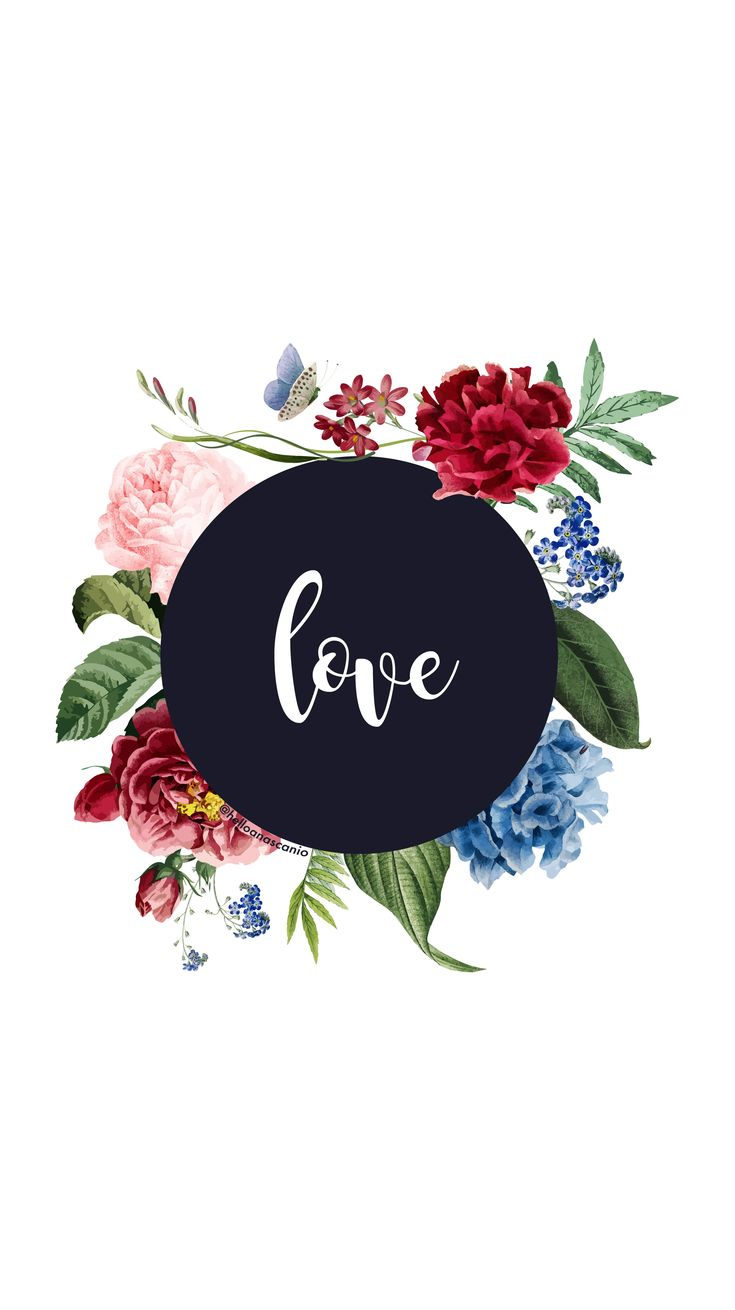 Instagram highlights templates, love, flowers, watercolor, write, typography