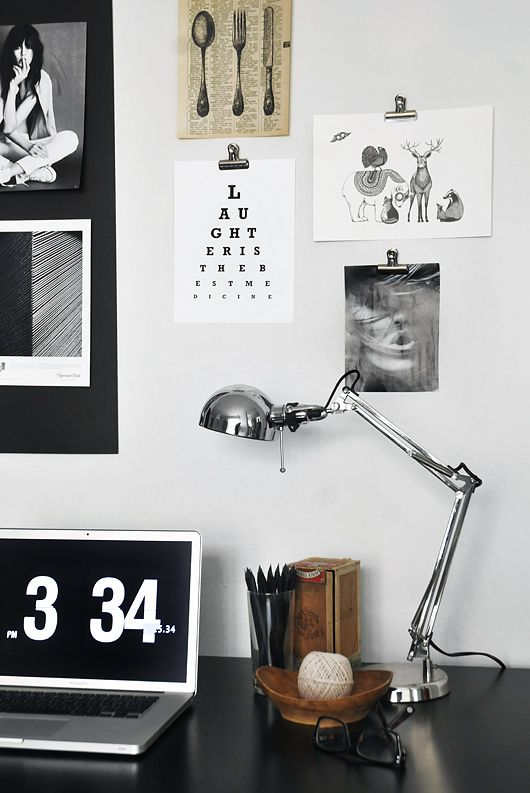 black&white study
