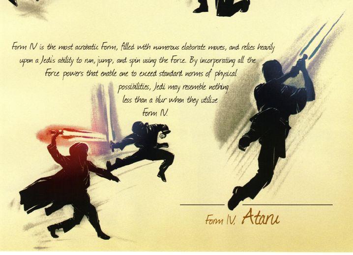 Lightsaber Fighting Forms | Star Wars Lightsaber Combat Forms Form ...