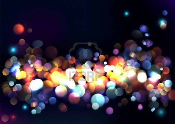 Blurred lights background | Something old, new, borrowed ...