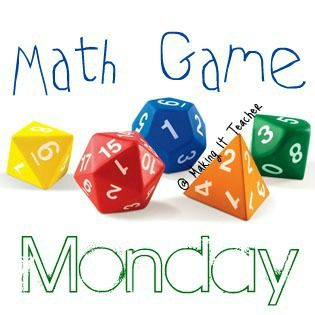 Making It As A Middle School Teacher: Math Game Monday ~ Four-in-a-Row Mental Math Game