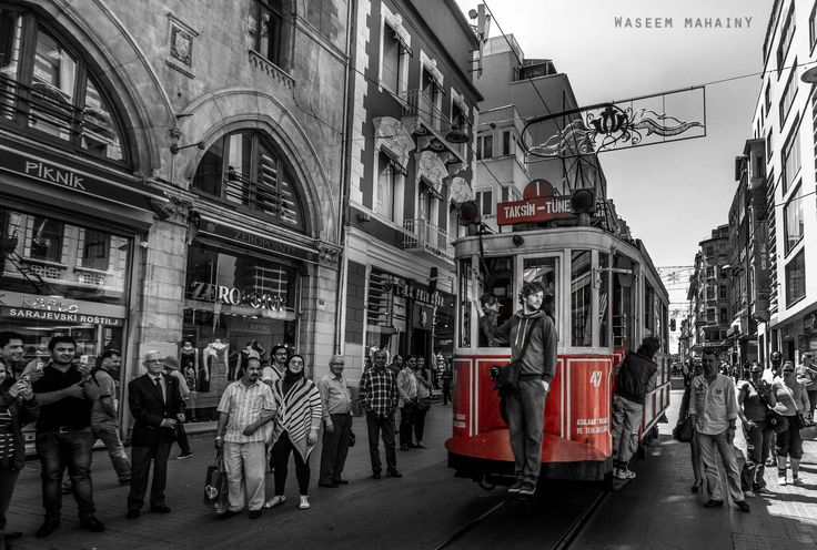 Istiklal Street by Waseem Mahayni on 500px