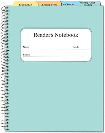 Reader's Notebook (Recommended for grades 2-4) Cover