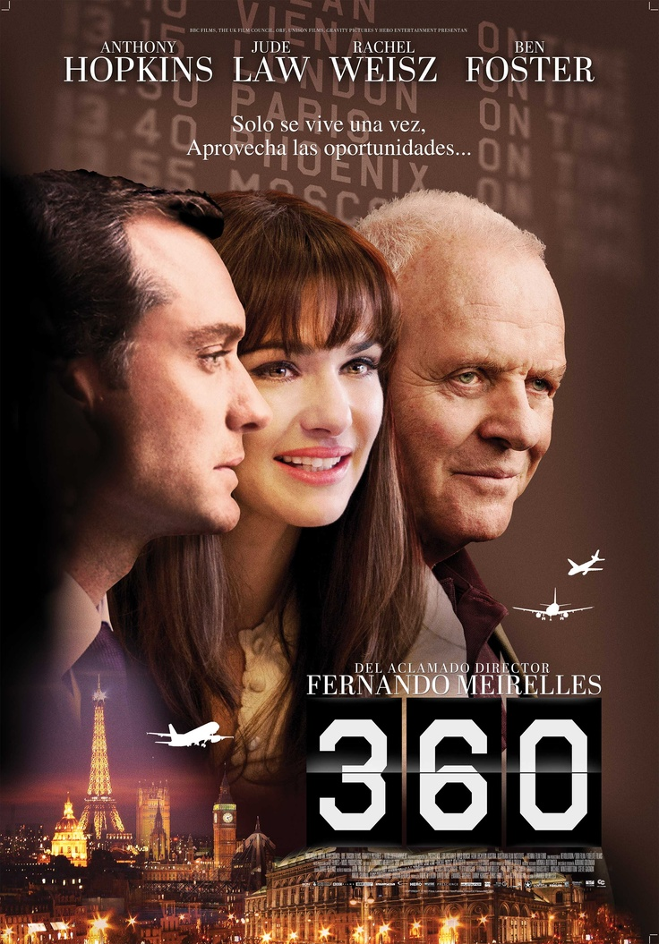 360 - Anthony Hopkins, Rachel Weisz,  Jude Law