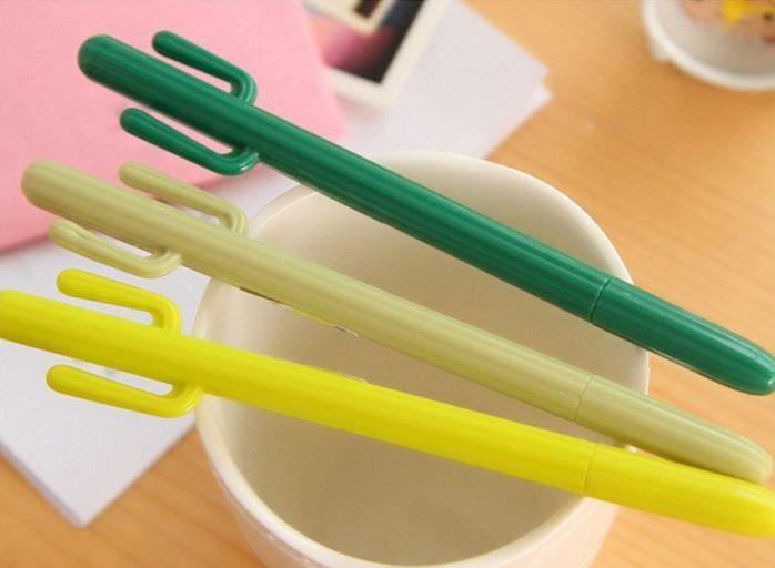 Cactus Fine Tip Gel Pen - MIMO Pencil Case Shop  - 2