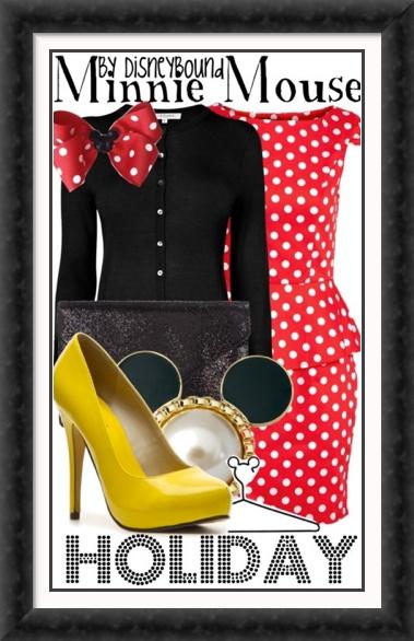 Disney Fashion! Minnie Mouse! So cute