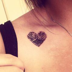 Fingerprint Tattoos on Pinterest | Fingerprint Heart Tattoos Tattoos ...