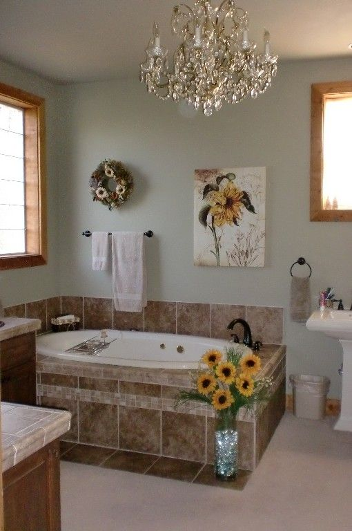 master bath with jacuzzi tub and large shower