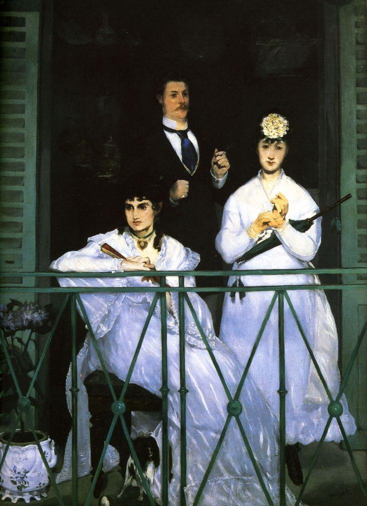 "Эдуард Мане. ""Балкон"". 1868-1869."