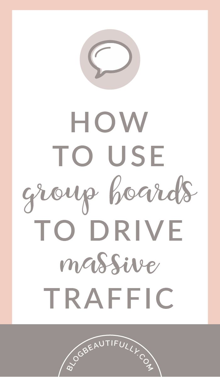 Confused about Pinterest group boards? You're not alone! Here's everything you need to know about finding, joining, and utilizing group boards to EXPLODE your blog traffic! From BlogBeautifully.com
