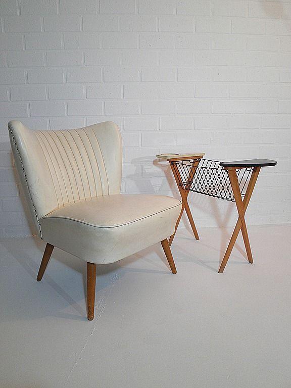 club fauteuil cocktail chair jaren 50