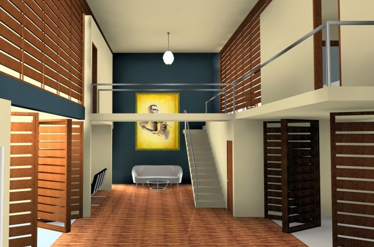 House designed for a Jazz Musician