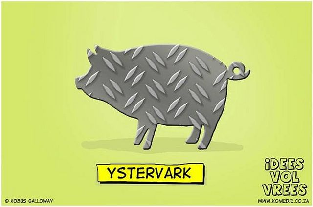 Idees Vol Vrees, some excellent Afrikaans cartoons (Via @MichelleRobs) by SenorBlinky, via Flickr