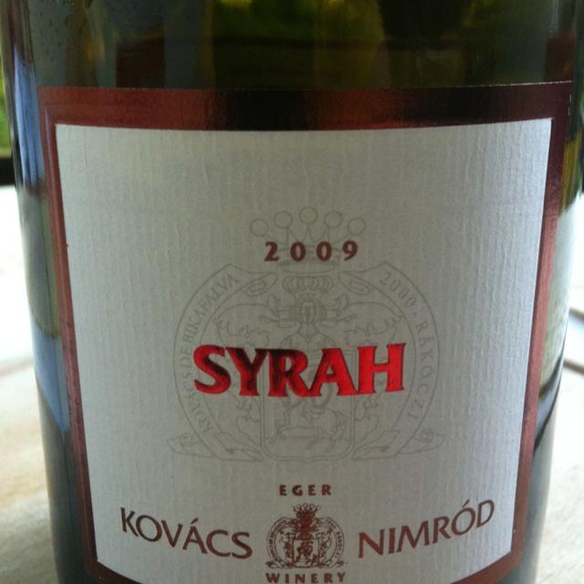 Syrah'09- Monopole! Delicious!