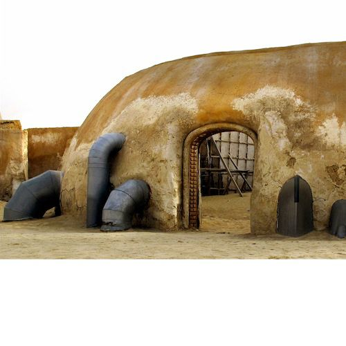 Abandoned Star Wars Set In The Desert. Every World's A