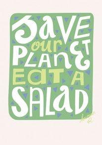 Garden Graphic Design pin de inspiration grid en graphic design pinterest Save Our Planet Eat A Salad Heartwork By Wwwhumanrubencom