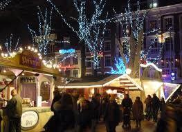 Rembrandtplein, Amsterdam, Christmas Market & Iceskating....
