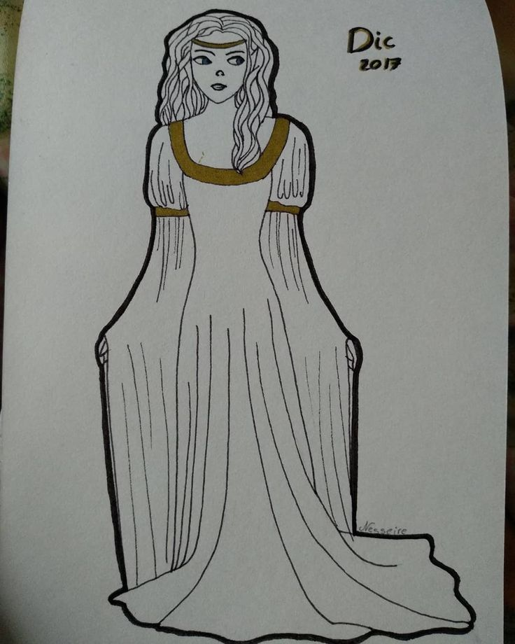 Today We Have An Arwen Pic. #arwen #arwenundomiel #lineart