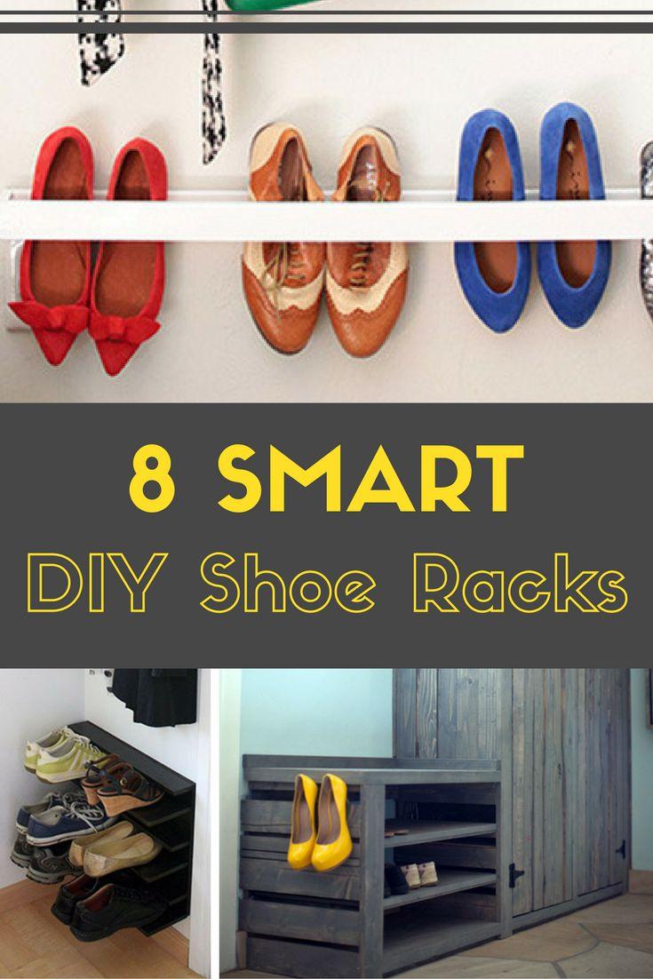 8 Smart Shoe Racks You Can Make