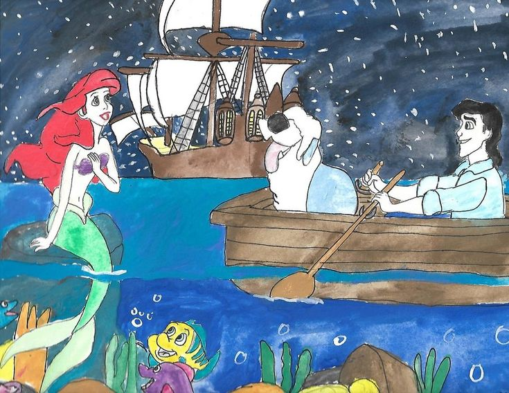 The Disney Renaissance: The Little Mermaid by merrittwilson.deviantart.com on @DeviantArt