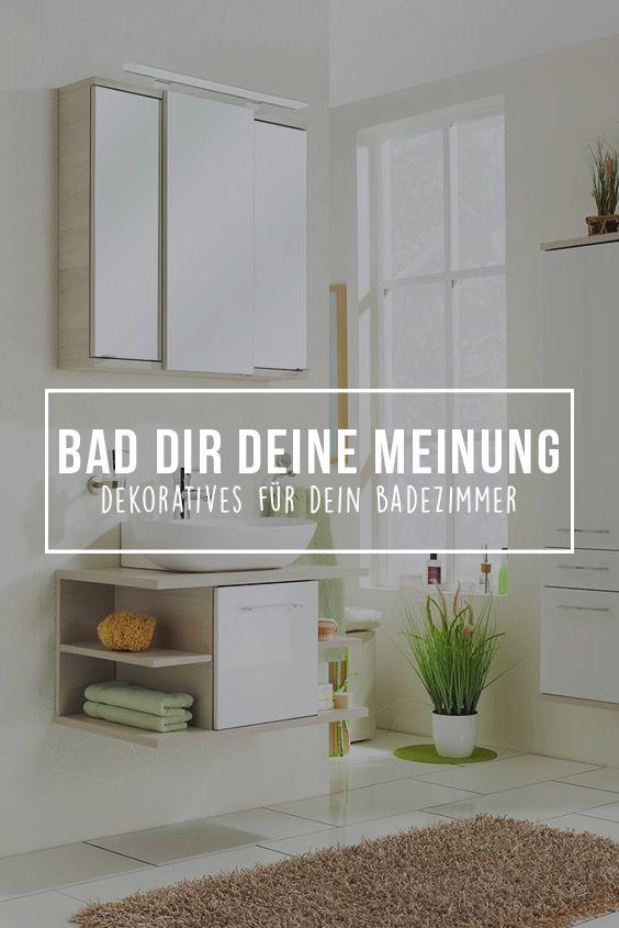 19 best Dekoratives für dein Badezimmer images on Pinterest - lampen fürs badezimmer