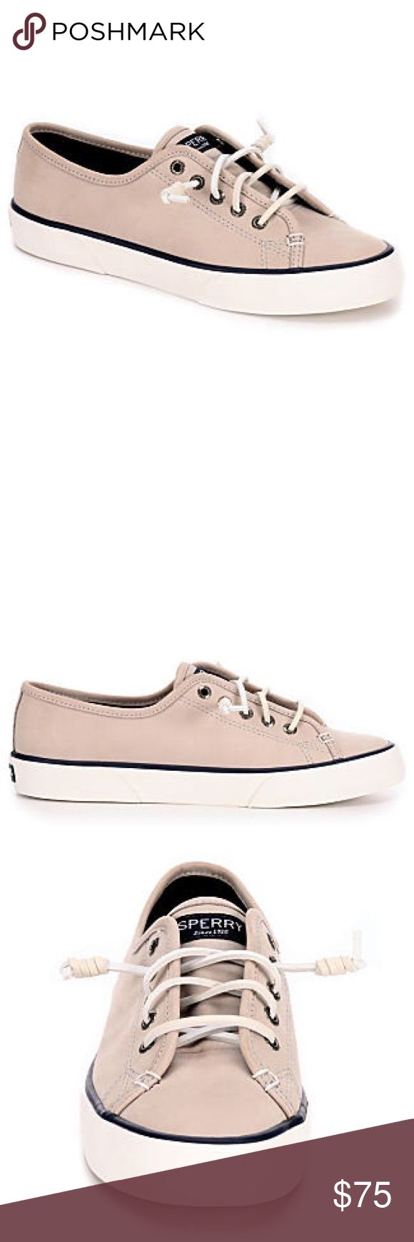 ☀️NWT☀️ Authentic Sperry Summer Sneaker ☀️ Brand new!! ☀️⛵️ A great classic summer look in these women's shoe by Sperry. Luxurious materials keeps it completely comfy, and the classic silhouette is always on trend. Looks perfect with summer dresses and casual styles too!!! 😎 (no trades) Sperry Shoes