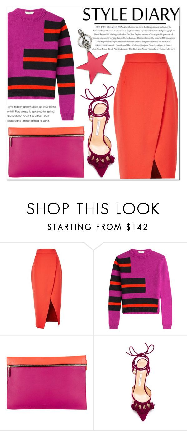 """Untitled #1110"" by samha ❤ liked on Polyvore featuring C/MEO COLLECTIVE, Fendi, Victoria Beckham, Envi:, Bionda Castana and STELLA McCARTNEY"