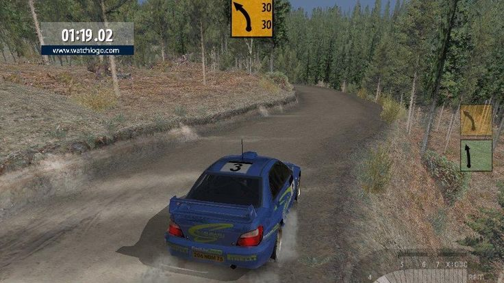 Richard Burns Rally Game Screenshots