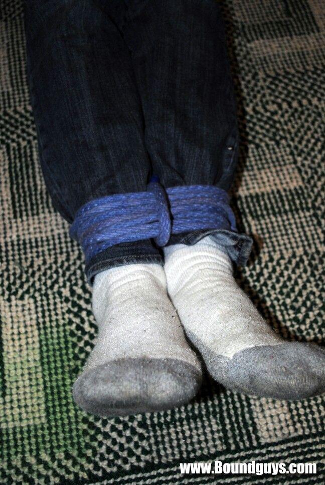 up socks Tied in