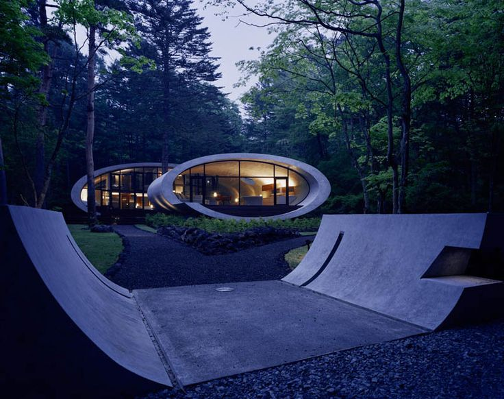A Japanese Roll in the Forest, via sifter