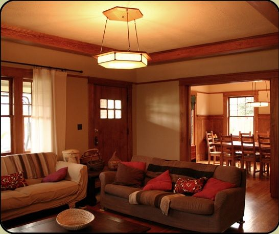Craftsman Style Living Room Lighting Ideas Part 47