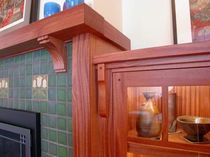 66 best craftsman fireplace ideas images on pinterest for Bungalow fireplace ideas