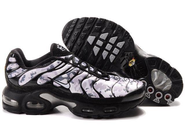 HkCY0Y Nike Air Max Tn Shoes Mens White Snow/Black