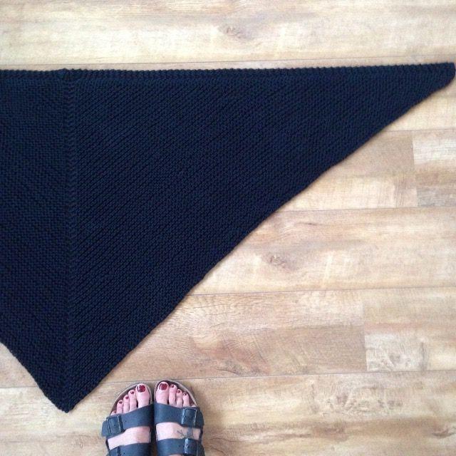La Poule s'est fait son shawl de printemps en Natura XL !
