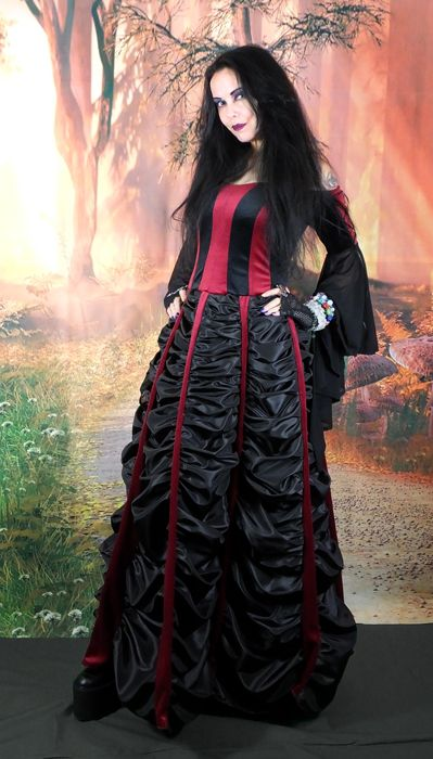 Mausoleum Gown by Moonmaiden Gothic Clothing UK