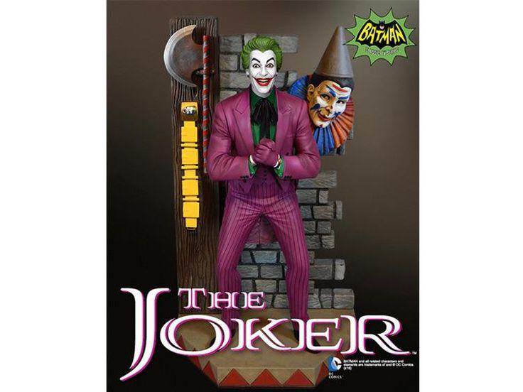 *PRE-ORDER* THE JOKER MAQUETTE: Batman Classics Cesar Romero As By Tweeterhead