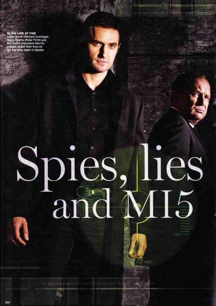 SPOOKS! Rupert Penry-Jones and Richard Armitage - haven't seen this yet, but must find!