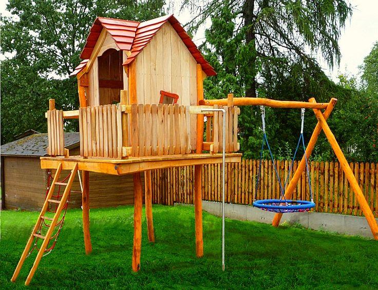 Häuser und Türme Kindergarten individuelle Spielplatzgeräte aus Robinienholz bunt lasiert Sandkastenspielzeug für Kinder Rheber Holz Design Schleiz/Thüringen