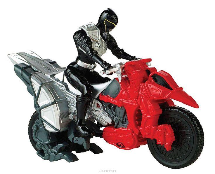 Power Rangers Игровой набор Могучие рейнджеры с мотоциклом цвет черный
