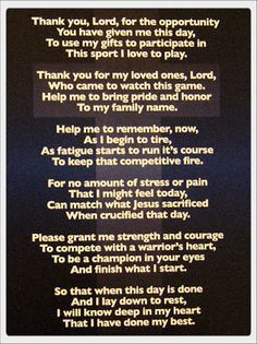 inspirational prayers for basketball - Google Search