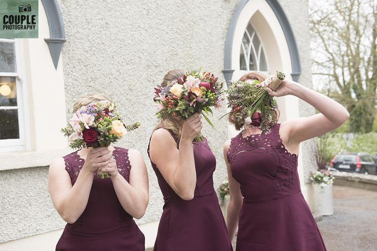 now you see me - now you don't.  Weddings at Ballymagarvey Village photographed by Couple Photography.