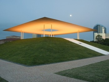 James Turrell's Skyspace: Twilight Epiphany near The Shepherd School of Music at Rice University, Houston, Texas