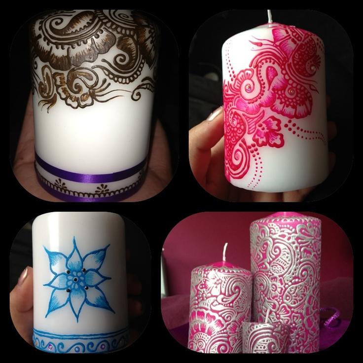 Mehndi Candles Facebook : Best images about henna candles on pinterest