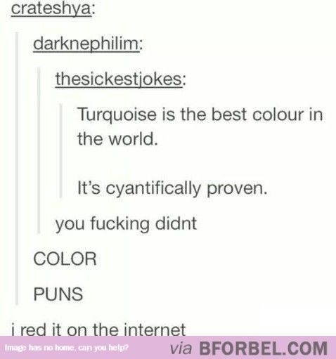 Colorfully Punny…