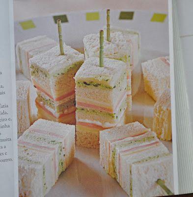 mini sandwiches #appetizer #tapas