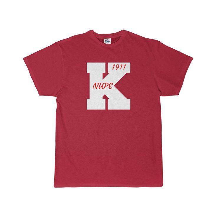 Kappa Alpha Psi NUPE 1911 | Large K | Men's T-Shirt V