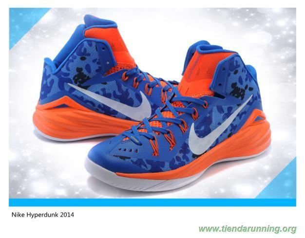 Hombre Royal azul / Orange Nike Hyperdunk 2014 iD oferta zapatillas running