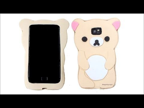 Minnie Mouse SMARTPHONE CASE DIY, mobile case HANDMADE - Isa ❤️ - YouTube
