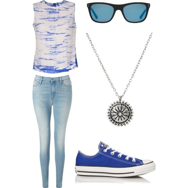 Geen titel #9 by ninavanoss on Polyvore featuring polyvore, mode, style, Equipment, 7 For All Mankind, Converse and Polo Ralph Lauren